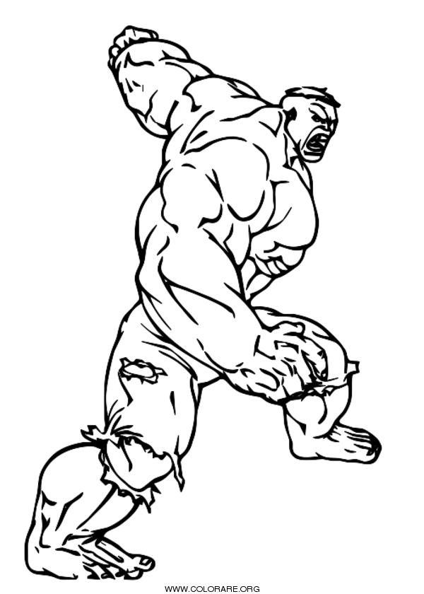 Hulk Disegni Da Colorare Colorare Org