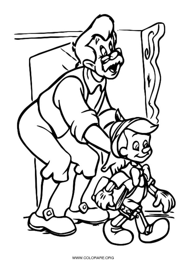 Pinocchio disegni da colorare colorare org for Immagini da colorare aristogatti